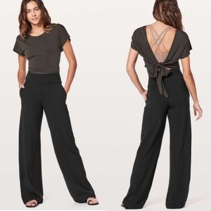 Lululemon wind down pants high rise black size 2